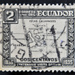 Stock Photo: ECUADOR - CIRC1935: stamp printed in Ecuador commemorating centenary of Darwin's visit to Galapagos Islands, circ1935