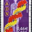 FRANCE - CIRCA 2001: A stamp printed in France shows DNA, circa 2001 — Stock Photo