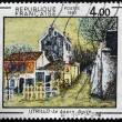 Stock Photo: FRANCE - CIRC1983: stamp printed in France shows work ni