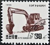 NORTH KOREA - CIRCA 1995: A stamp printed in DPR Korea shows — Stock Photo
