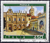 ITALY - CIRCA 1984: A stamp printed in Italy shows Padula, circa 1984 — Stock Photo