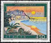 ITALY - CIRCA 1982: A stamp printed in Italy shows Rodi Gargano, circa 1982 — Stock Photo
