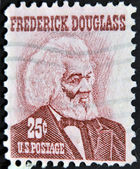 UNITED STATES OF AMERICA - CIRCA 1973: a stamp printed in USA shows Frederick Douglass, leader of the abolitionist movement, circa 1973 — Stock Photo