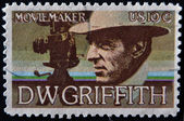 UNITED STATES - CIRCA 1975: stamp printed in USA shows DW Griffith, circa 1975 — Stock Photo