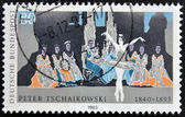 GERMANY- CIRCA 1993 : Stamp printed in Germany shows Ballet of Pyotr Tchaikovsky, circa 1993 — Zdjęcie stockowe
