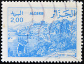 ALGERIA - CIRCA 1984: stamp printed in Algeria shows Bejaia, circa 1984 — Stock Photo