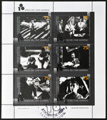 ARGENTINA - CIRCA 1995: A stamp printed in Argentina dedicated to 100 years of world cinema, shows images of films, circa 1995 — Stock Photo