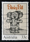AUSTRALIA - CIRCA 1985: Stamp printed by Australia, shows Blinky Bill, by Dorothy Wall, circa 1985 — Stock Photo