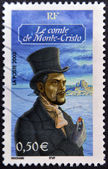 FRANCE - CIRCA 2003: A stamp printed in France shows Count of Monte Cristo, circa 2003 — Stock Photo