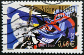 FRANCE - CIRCA 2002: A stamp printed in France shows Sidney Bechet, circa 2002 — Stock Photo
