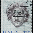 Royalty-Free Stock Photo: ITALY - CIRCA 1979: A stamp printed in Italy shows Albert Einstein, circa 1979