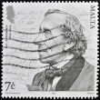 MALTA - CIRCA 2005: A stamp printed in Malta shows Hans Christian Andersen, circa 2005 — Stock Photo