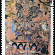 Stock Photo: MONGOLI- CIRC1990: stamp printed in Mongolishows Dorje Dags Dan, Buddhist deity, circ1990