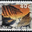 NEW ZEALAND - CIRCA 1996: A stamp printed in New Zealand shows Fox Glacier, circa 1996 — Stock Photo