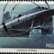SOUTH AFRICAN - CIRCA 1982: A stamp printed in RSA shows submarine Duikboot, circa 1982 — Stock Photo