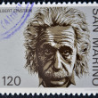 SAN MARINO - CIRCA 1979: A stamp printed in San Marino shows Albert Einstein, circa 1979 — Stock Photo