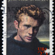 UNITED STATES - CIRCA 1996: A stamp printed in USA shows James Dean, circa 1996 — Stock Photo