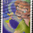 UNITED STATES OF AMERICA - CIRCA 2007: A stamp printed in USA shows Peter Pan, circa 2007 — Stock Photo
