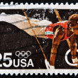 UNITED STATES OF AMERICA - CIRCA 1988: A stamp printd in USA sho — Stock Photo