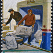 UNITED STATES OF AMERICA - CIRCA 1970: A stamp printed in USA dedicated to postal service, circa 1970 — Foto Stock