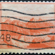 UNITED STATES OF AMERICA - CIRCA 1934: A stamp printed in USA shows Grand Canyon, circa 1934 — Stock Photo
