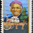 Stock Photo: US- CIRC1996 : stamp printed in USshow Harriet TubmAfrican-Americabolitionist, humanitarian, black heritage, circ1996