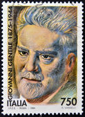 ITALY - CIRCA 1994: A stamp printed in Italy shows Giovanni Gentile, circa 1994 — Stock Photo