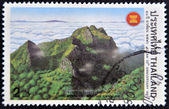 THAILAND - CIRCA 1997: A stamp printed in Thailand shows luang chiang dao mountain, chang mai, circa 1997 — Stock Photo