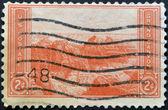 Verenigde Staten van Amerika - circa 1934: een stempel gedrukt in de Verenigde Staten toont grand canyon, circa 1934 — Stockfoto