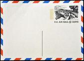 Carte postale ancienne 1972 des états-unis. — Photo