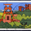 GERMANY- CIRC2003: stamp printed in Germany, shows Scenic Regions in Germany, Ruhr Region, circ2003. — Stock Photo #9850547