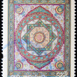 ALGERI- CIRC2003: stamp printed in algerishows Woodwork of roof of mosque DjemaEl Djedid, circ2003 — Stock Photo #9850620