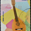 SPAIN - CIRCA 2011: A stamp printed in Spain shows a lute, circa 2011 — Stock Photo