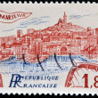 Royalty-Free Stock Photo: FRANCE - CIRCA 1983: A stamp printed in France shows Marseilles, circa 1983