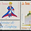 FRANCE - CIRC1998: stamp printed in France shows little prince, circ1998 — Stock Photo #9851090