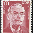 Royalty-Free Stock Photo: GERMANY - CIRCA 1975: A stamp printed in GDR (East Germany) shows Thomas Mann, circa 1975