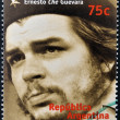 ARGENTINA - CIRCA 1997: A stamp printed in Argentina shows Ernesto Che Guevara, circa 1997 — Stock Photo #9853053