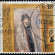 "Stock Photo: BELGIUM - CIRC1999: stamp printed in Belgium shows work ""My Favorite Room"" by James Ensor, circ1999"
