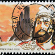 BELGIUM - CIRC1997: stamp printed in Belgium shows Ernest VDijck, circ1997 — Foto de stock #9853216