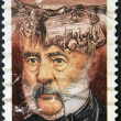 Stock Photo: CANAD- CIRC1986: stamp printed in Canadshows Philippe Aubert de Gaspe, Novelist, circ1986