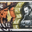 Stock Photo: MALTA - CIRCA 1997: A stamp printed in Malta shows Joseph Calleia, circa 1997
