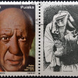 POLAND - CIRCA 1981: A stamp printed in Poland shows Pablo Picasso was a Spanish painter, draughtsman, and sculptor, circa 1981. — Stock Photo