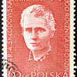 POLAND - CIRCA 1984: A stamp printed in Poland shows Marie Sklodowska Curie, circa 1984. - Stock Photo