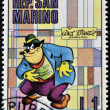 SAN MARINO - CIRCA 1970: A stamp printed in San Marino shows Peg Leg Pete, cartoon character of Walt Disney, circa 1970 - Stock Photo