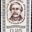 VENEZUELA - CIRCA 1960: A stamp printed in Venezuela shows Rafael Maria Baralt, circa 1960 — Stock Photo