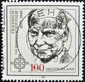 GERMANY - CIRCA 1996: a stamp printed in the Germany shows Friedrich von Bodelschwingh, Protestant Theologian, circa 1996 — Stock Photo