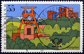GERMANY- CIRCA 2003: stamp printed in Germany, shows Scenic Regions in Germany, Ruhr Region, circa 2003. — Stock Photo