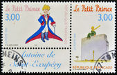 FRANCE - CIRCA 1998: A stamp printed in France shows the little prince, circa 1998 — Stock Photo