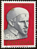 PORTUGAL - CIRCA 1960: A stamp printed in Portugal shows St. Vincent de Paul, circa 1960 — Stock Photo