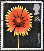 соединенное королевство - около 1987: штамп напечатан в великобритании шоу гайллардия, около 1987 года — Стоковое фото